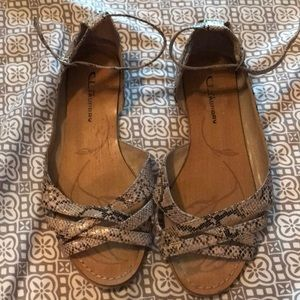 Snakeskin Chinese Laundry Sandals